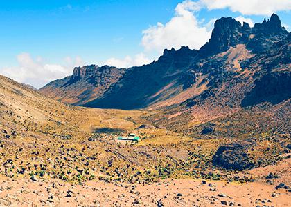 Shiptons camp på Mount Kenya