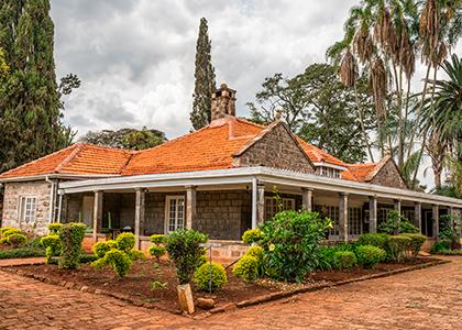 Karen Blixen museum i Nairobi, Kenya