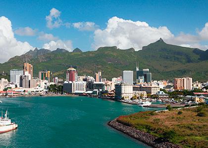 Port Louis i Mauritius