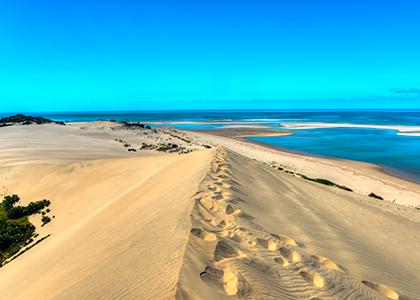 Bazaruto beach i Mozambique