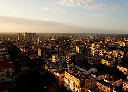 Maputo i Mozambique