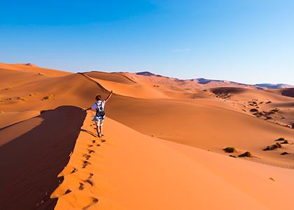 Sesriem Desert i Namibia
