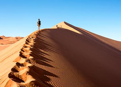 Sossusvlei i Namibia