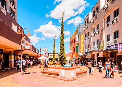 Gade i Windhoek, Namibia