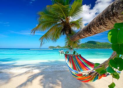Hængekøje på Mahé, Seychellerne