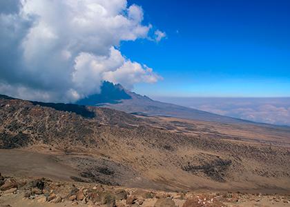 Barafu camp på Mount Kilimanjaro