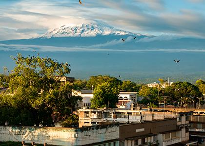 Kilimanjaro fra Moshi