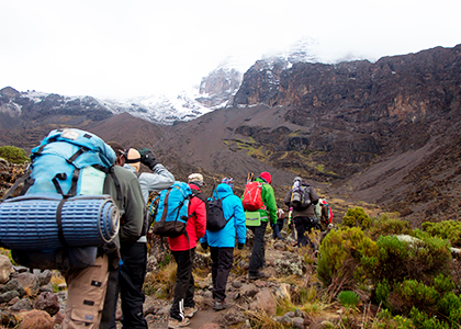 Bestige Mount Kilimanjaro