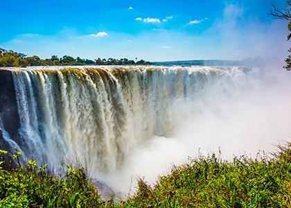Victoria Falls i Zambabwe